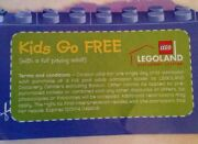 Legoland Free Child Ticket