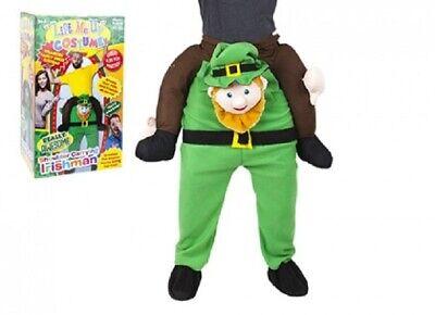 Leprechaun Baby Costume (Lift Me Up Carry Me Costume Irish Leprechaun St Patricks Day Piggy Back Ride)
