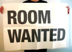 WANTED- Room for short term