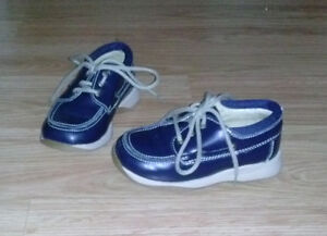 Toddler size 8.5 Minibel 100% leather shoes.