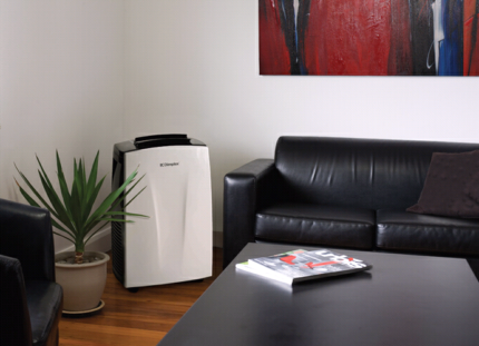 Dimplex DC18 5.3kW portable AC with dehumidifier