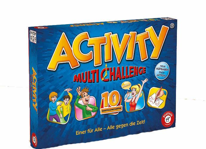 Piatnik 609824 Activity Multi Challenge,Partyspiel