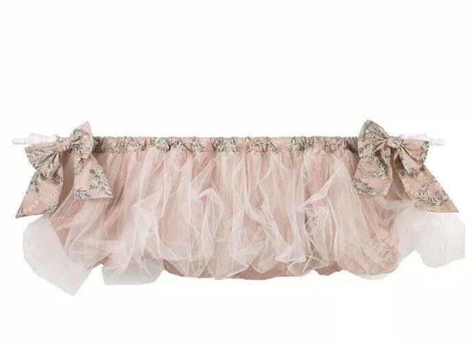 Cotton Tale Designs Nightingale Balloon Valance, Pink