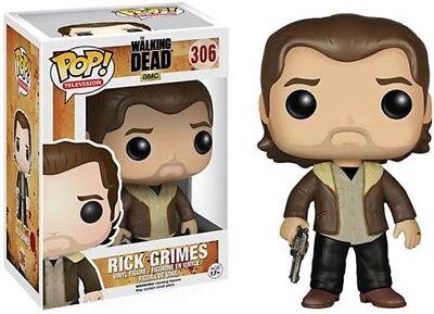 Funko Pop TV: Walking Dead Season 5 Rick Grimes Action Figur