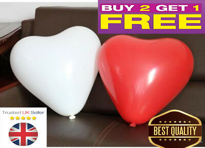 50 PCS Heart Shaped BALLOONS LATEX VALENTINES BALLOON Party Decor 10