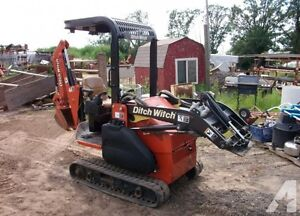 Ditch Witch XT 850 Utility Tool Carrier & Attachments Belleville Belleville Area image 9