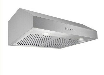 Cosmo30 in. Ducted Under Cabinet Range Hood in Stainless Steel 760 CFM