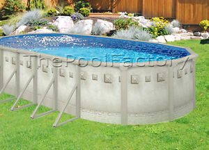 18x33x52 034 oval above ground swimming pool package sale ebay