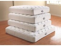"""SAME/NEXTDAY DELIVERY 4""""6ft double/4ft small double """"different quality"""" BRAND NEW MATTRESSES ON SALE"""