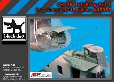 Blackdog Models 1/48 BOEING VERTOL CH-46 BULL FROG Resin Update Set -