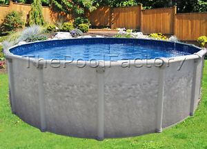 24x52 034 Round Value Package Above Ground Swimming Pool