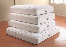MEMORY FOAM POCKET SPRUNG MATTRESSES ALL SIZES NEW FREE DELIVERY