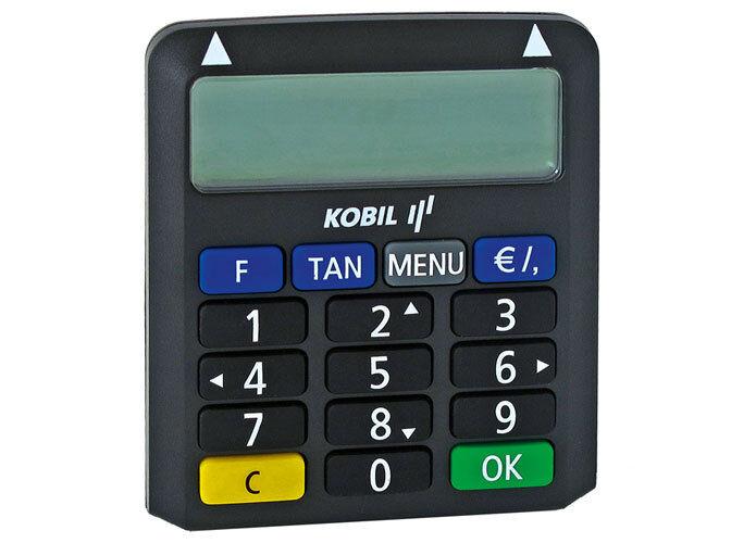 TAN Generator Gerät CHIP KOBIL COMFORT HHD 1.4 chipTAN online banking NEU in OVP