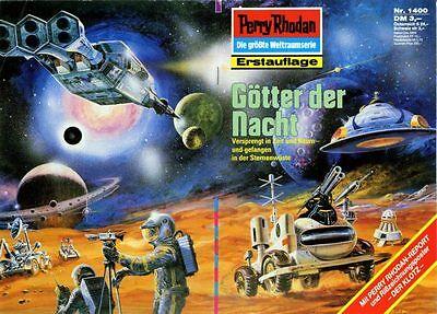 PERRY RHODAN NR:1400-1499! 1.AUFLAGE MIT POSTER