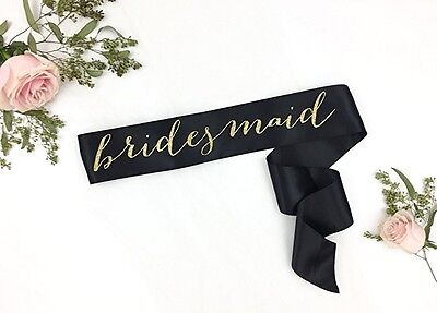 Bridesmaid Sash, Maid of Honor sash, Matron of Honor Sash, Bachelorette Sash, Br - Maid Of Honor Matron Of Honor