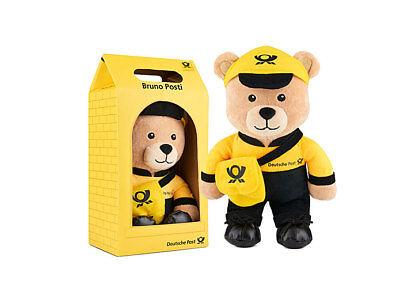Bruno Posti Plüsch groß mit Karton Teddy Bär maskottchen NEU