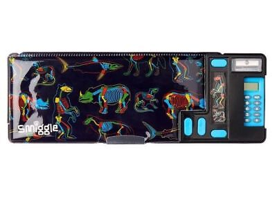 Smiggle Latest Spark Pop Out Pencil Case With Calculator Black Lovely Gift BNWT