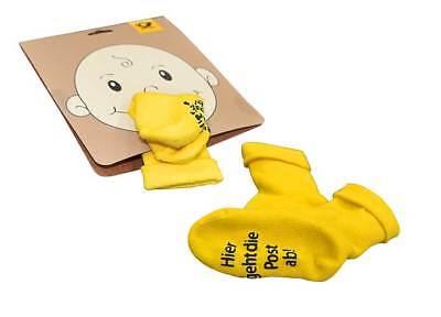 Baby Socken Söckchen Kollektion Deutsche Post  DPAG DHL NEU Baumwolle