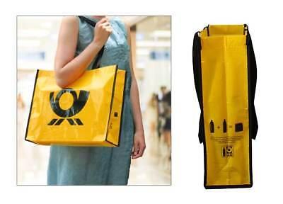 R-PET Post Bag Deutsche Post recycelt Henkel Tasche RPET 35 x 12 x 45 cm NEU