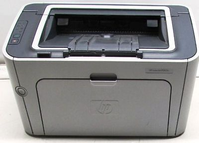 Hp Laserjet P1505n Workgroup Laser Printer   Refurb Cd Driver New Rollers