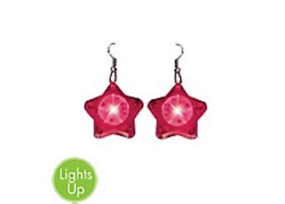 Bachlorette Earrings Pink Light Up  Party Favor Party Supplies - Bachlorette Party Favors