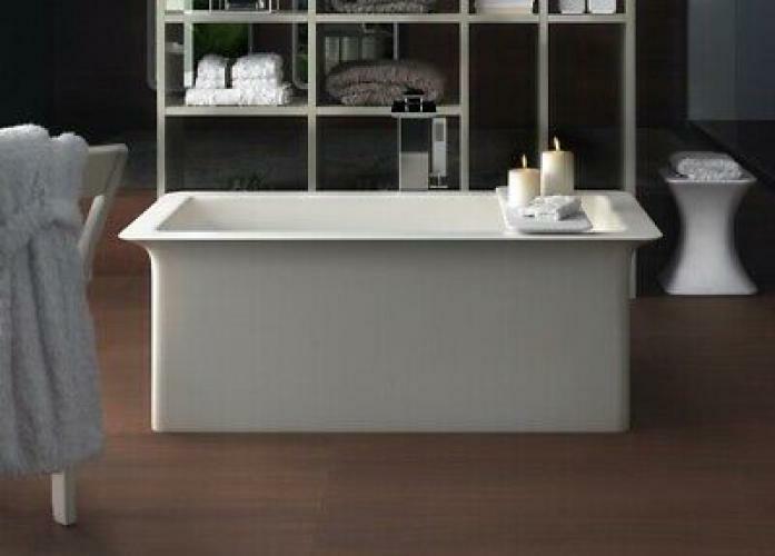 Gessi Ispa Freestanding Bathtub In Cristalplant 42015