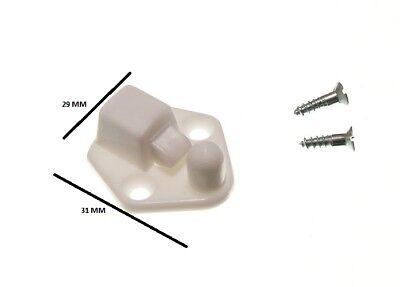 Cerradura Bloqueo Blanco + Accesorios Paquete De 1000