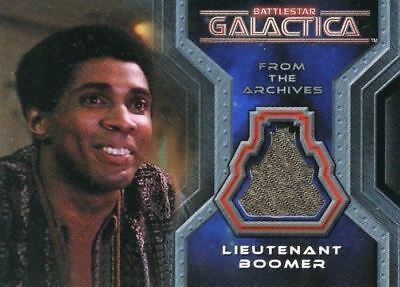 Battlestar Galactica Colonial Warriors Lieutenant Boomer Costume Card CC4