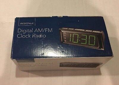 Insignia Digital AM/FM Alarm Clock Radio - Large LED Display