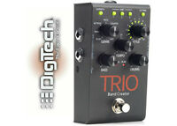 New! Digitech TRIO Band Creator pedal