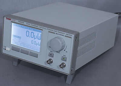 Thorlabs Pm320e Dual-channel Optical Power Energy Meter Console