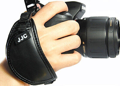 JJC HSA Genuine Leather Hand Strap Grip for Canon Rebel T6i T6 T5i T5 T4i T4