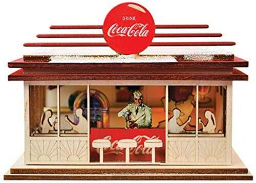 Ginger Cottage Coca Cola Soda Shop 84001