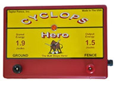 Cyclops Hero 1.5 Joule 15 Acre Ac Powered Electric Fence Charger Energizer