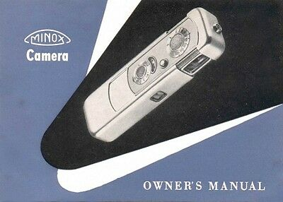 MINOX A III INSTRUCTION MANUAL FREE SHIP