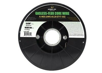 Flux Core 71tgs .030 Gasless E71tgs Mig Wire 1 Roll 10 Ib Each Us Made