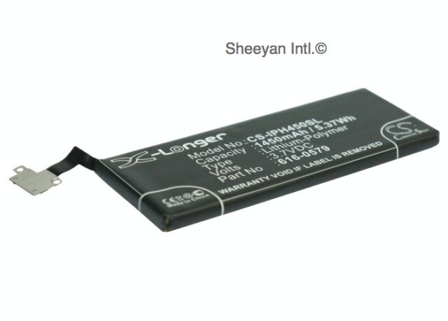 Replacement Battery Stocked RoHS Apple iPhone 4S 64GB 1450 mAh Li-ion IPH450SL