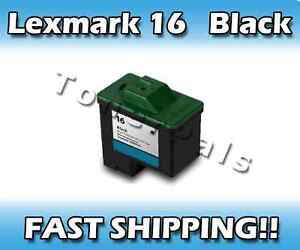 TonerPals Lexmark 16 10N0016 ink cartridge blk #16 X1185