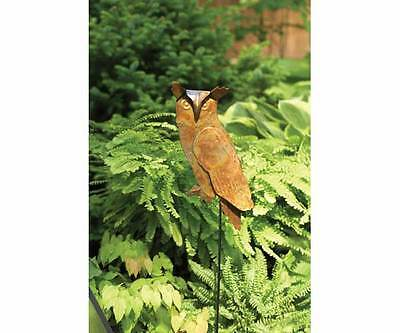 Ancient Graffiti AG-10227 Flamed Copper Staked Owl Garden