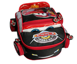 NEW Popular Cars McQueen Kids Backpack School Bag for Children Free shipping
