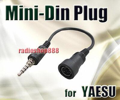 Mini-Din Plug for Yaesu VX-170 VX-177 VX-6R VX-7R radio
