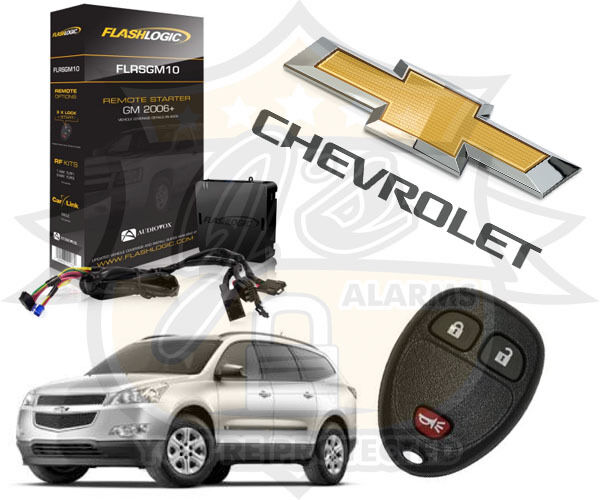 2009-2016 Chevy Traverse Plug & Play Remote Start System Chevrolet FLRSGM10 GM10