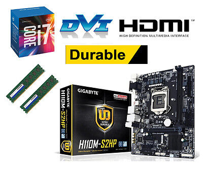 Bundle Intel Core i7 6700K 4x4,20GHz Skylake+Gigabyte H110M-S2HP+8GB DDR4 PC2133