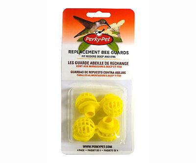 Perky pet Hummingbird Feeder Bee Guard, Replacement Pack, 4 piece