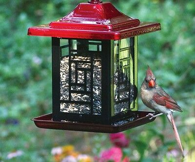 Bird Feeder Mosaic Feeder 5.5 lb Made in USA Heavy Duty Rust Resistant 4482