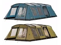 Vango Monte Verde 700 7 berth tent - fantastic layout