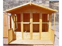 Eden Summerhouse 19mm Loglap Exterior