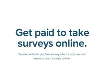 Earn Cash With Paid Surveys - Work from Home - Immediate Start