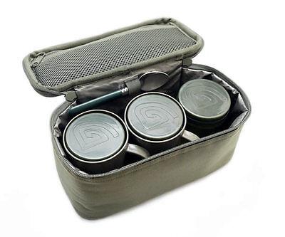 Trakker NXG Brew Kit Bag Bait Pot NEW Carp Fishing Luggage - 204919