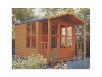 Eden Summerhouse 12mm T&G Exterior